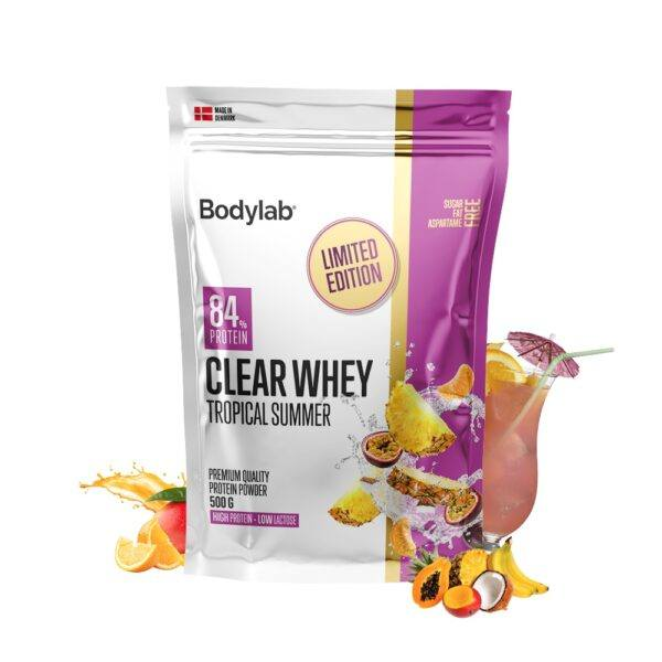 Bodylab Clear Whey 500g - Tropical Summer (NYHED)