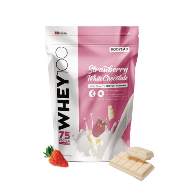 Bodylab Whey 100 (1 kg) Strawberry White Chocolate