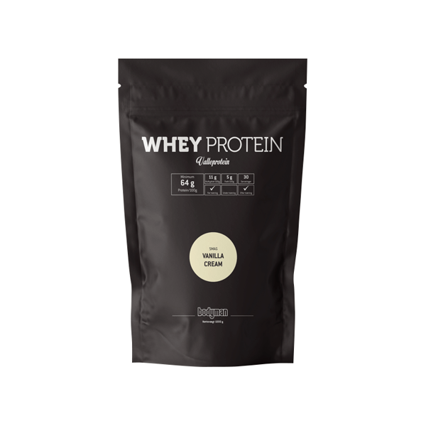 Bodyman Whey Protein Vanilla Cream 1000g