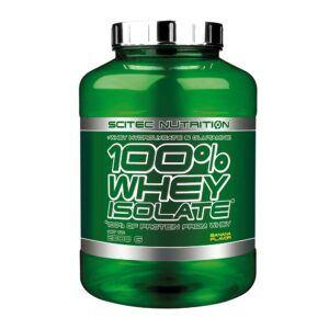 Scitec Nutrition 100% Whey Isolate (2000g)-Banana