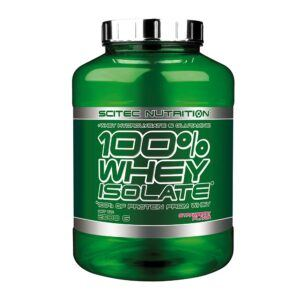 Scitec Nutrition 100% Whey Isolate (2000g)-Strawberry
