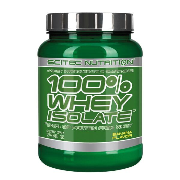 Scitec Nutrition 100% Whey Isolate (700g)-Banana