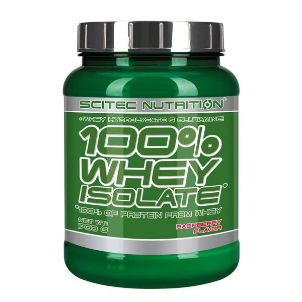 Scitec Nutrition 100% Whey Isolate (700g)-Raspberry