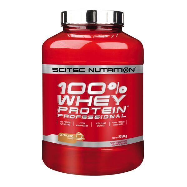 Scitec Nutrition 100% Whey Protein Professional (2350g)-Cappucino