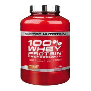 Scitec Nutrition 100% Whey Protein Professional (2350g)-Caramel