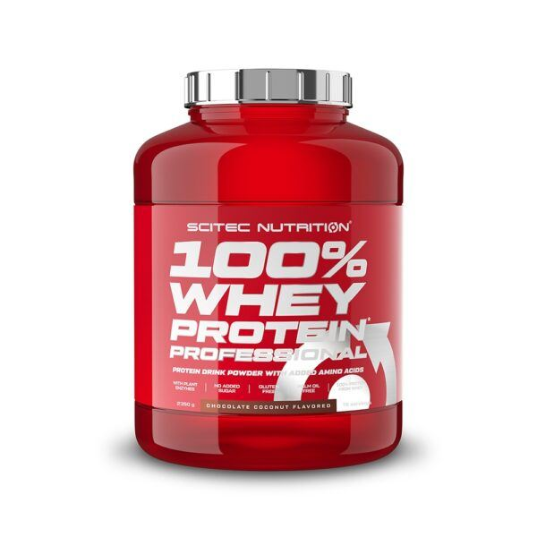 Scitec Nutrition 100% Whey Protein Professional (2350g)-Chocolate Coconut