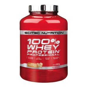 Scitec Nutrition 100% Whey Protein Professional (2350g)-Chocolate Peanut Butter