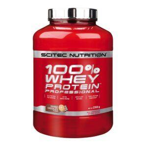 Scitec Nutrition 100% Whey Protein Professional (2350g)-Orange Chocolate