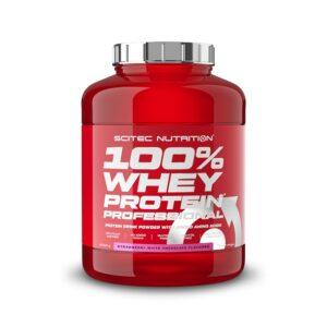 Scitec Nutrition 100% Whey Protein Professional (2350g)-Strawberry White Chocolate