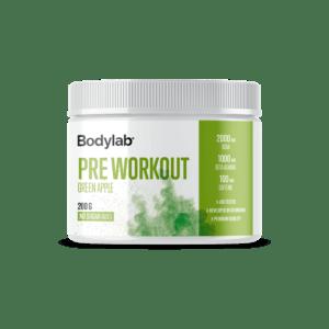 Bodylab Pre Workout (200 g) - Green Apple