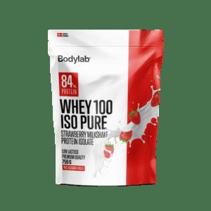 Bodylab Whey 100 ISO Pure (750 g) - Strawberry Milkshake