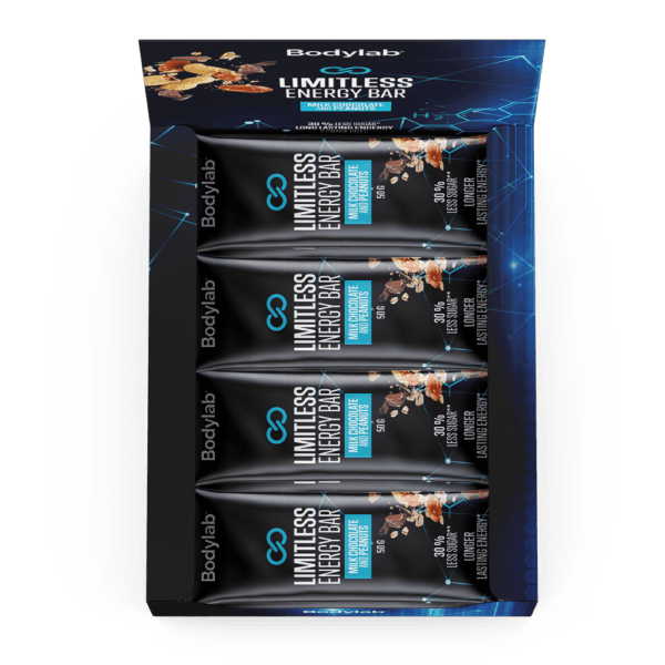 Limitless Energy Bar (12 x 50 g) - Mix Box