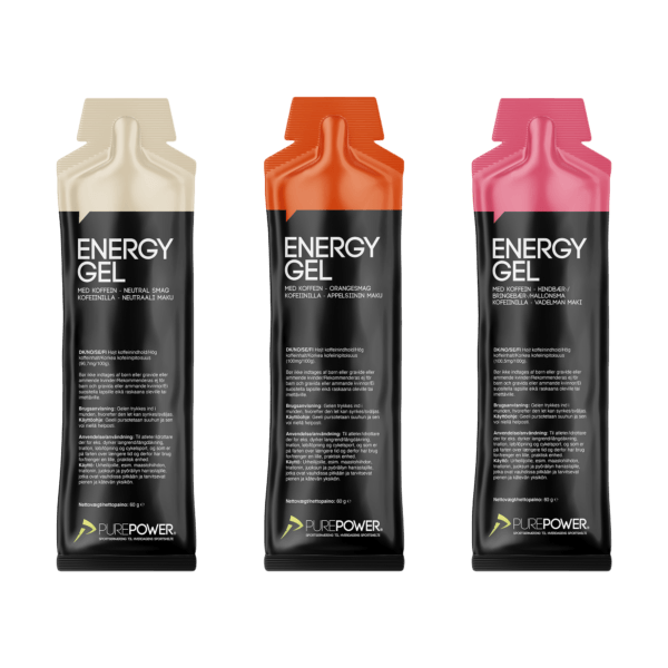 Mix 18 x 60 g Koffein Gels