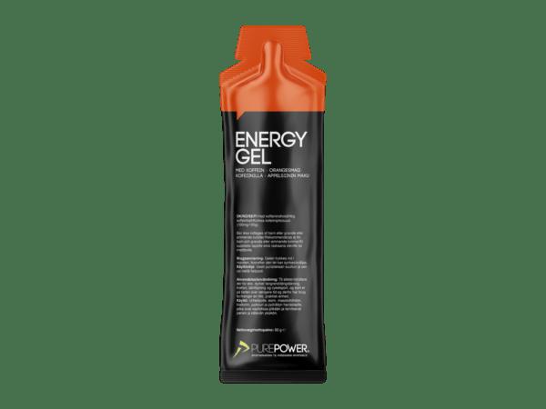 PurePower Energy gel - Appelsin med 60 mg koffein - 60 gram