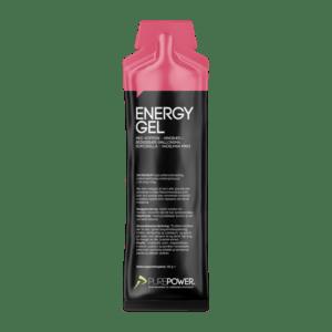 PurePower Energy gel - Hindbær med 60 mg koffein - 60 gram