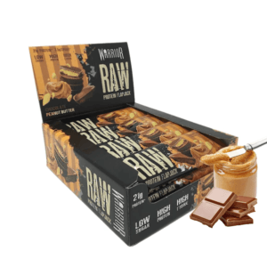 Warrior Raw Protein Flapjack 12x75g Chocolate Peanut Butter
