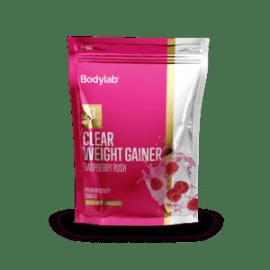 BodyLab Clear Weight Gainer Raspberry Rush (1 x 1,5 kg)