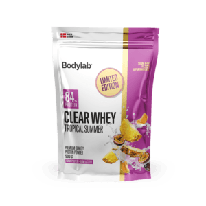 BodyLab Clear Whey Tropical Summer Proteinpulver (1 x 500 g)