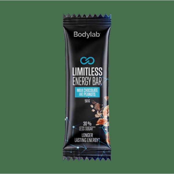 BodyLab Limitless Energy Bar - Mælke Chocolade & Peanuts (1 x 50g)