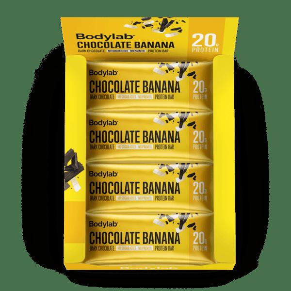 BodyLab Protein Bar Chocolade Banan (1 x 55 g)