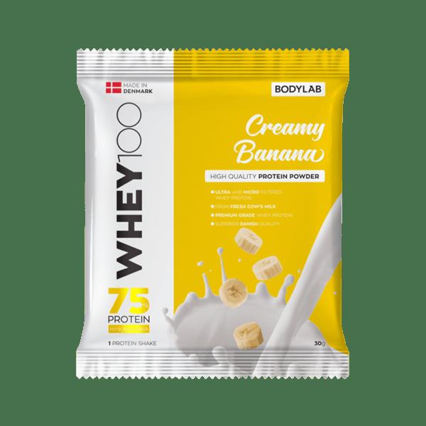 BodyLab Sample Whey 100 Creamy Banan (1 x 30 gram)