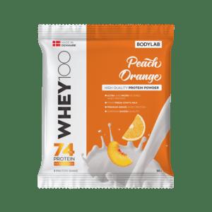 BodyLab Sample Whey 100 Fersken/Appelsin (1 x 30 gram)