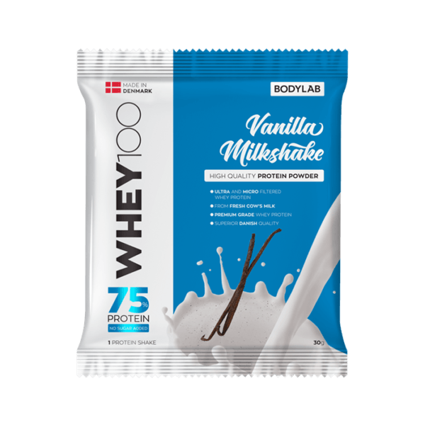 BodyLab Sample Whey 100 Vanilje Milkshake (1 x 30 gram)
