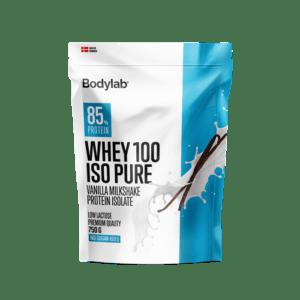 BodyLab Whey 100 ISO Pure Vanilla Milkshake (1x 750 g)