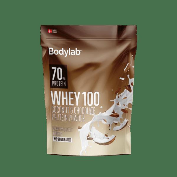 BodyLab Whey 100 Kokos & Chocolade Proteinpulver (1 x 1000 g)