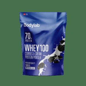 BodyLab Whey 100 Proteinpulver Cookies & Cream (1kg)