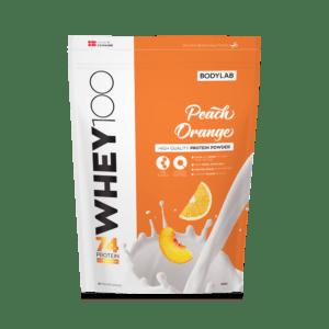 BodyLab Whey 100 Proteinpulver Peach/Orange (1kg)