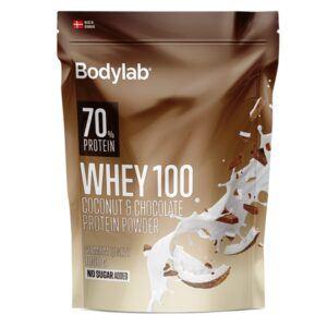 Bodylab Whey 100 Coconut & Chocolate 1000g