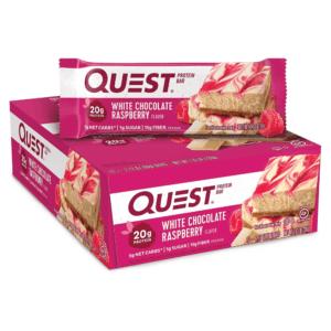 Quest Protein Bar White Chocolate Raspberry (12x60g)