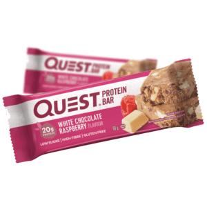 Quest Protein Bar White Chocolate Raspberry (60g)