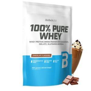 BioTechUSA 100% Pure Whey - Chocolate (1 kg)