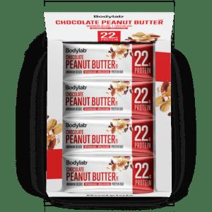 BodyLab Minimum Deluxe Protein Bar Chocolate Chip Peanut Butter (12 x 65 g)