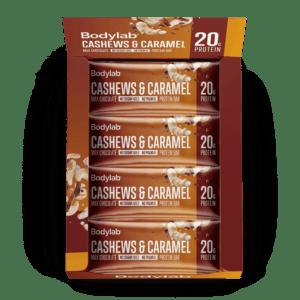 BodyLab Protein Bar Cashewnødder & Karamel (12 x 55 g)
