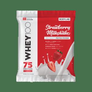 BodyLab Sample Whey 100 Jordbær Milkshake (1 x 30 gram)
