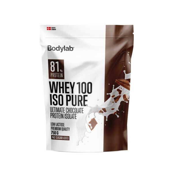 Bodylab Whey 100 ISO Pure (750 g)-Ultimate Chocolate
