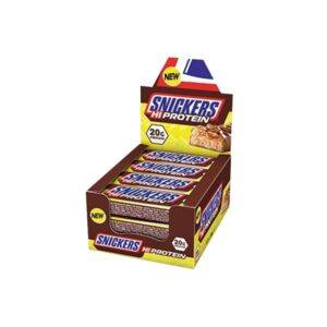 Snickers Hi-Protein Bar Chocolate Caramel & Nuts, 12x55g